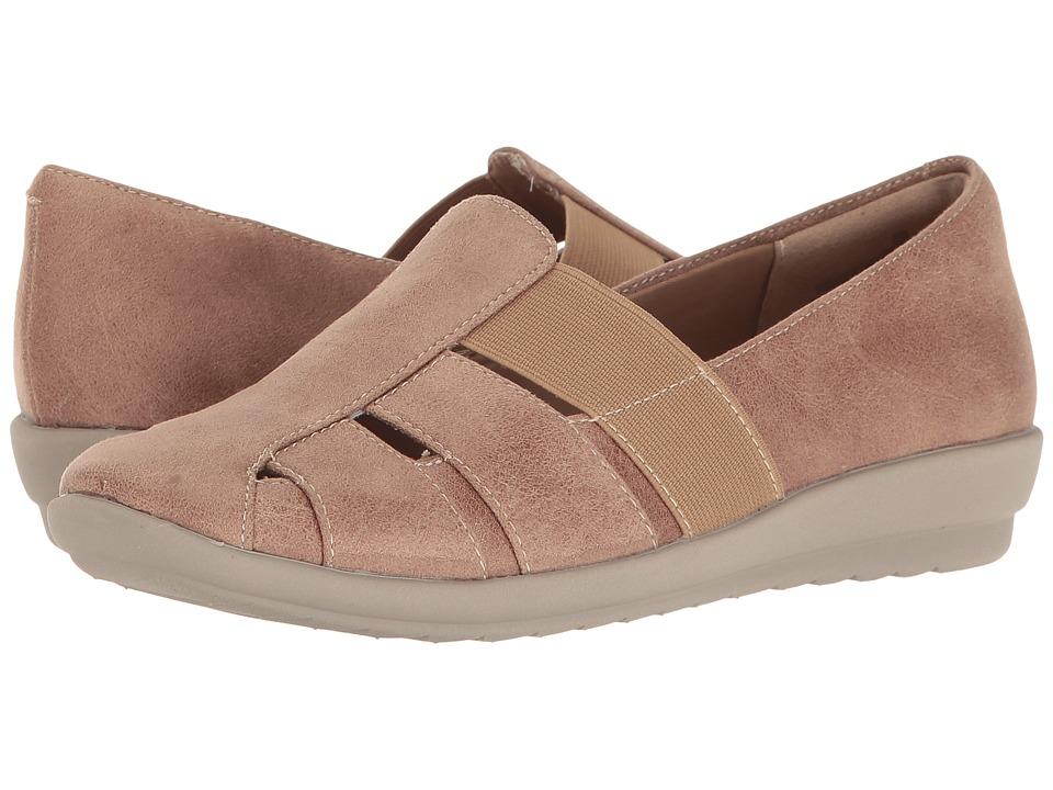 Easy Spirit Alani (Taupe/Taupe Fabric) Women