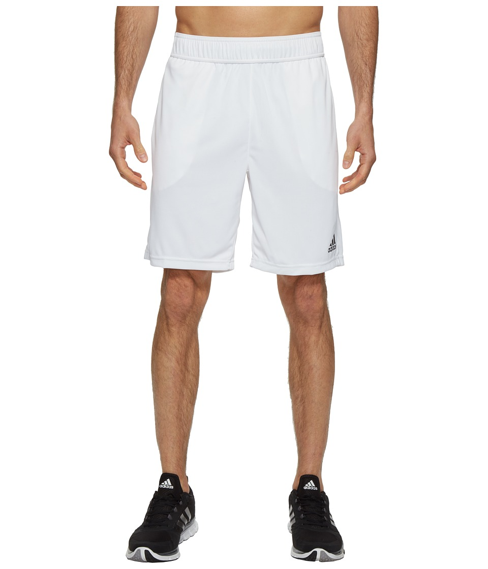 adidas - Barricade Climachill Shorts (White/Black) Men's Shorts