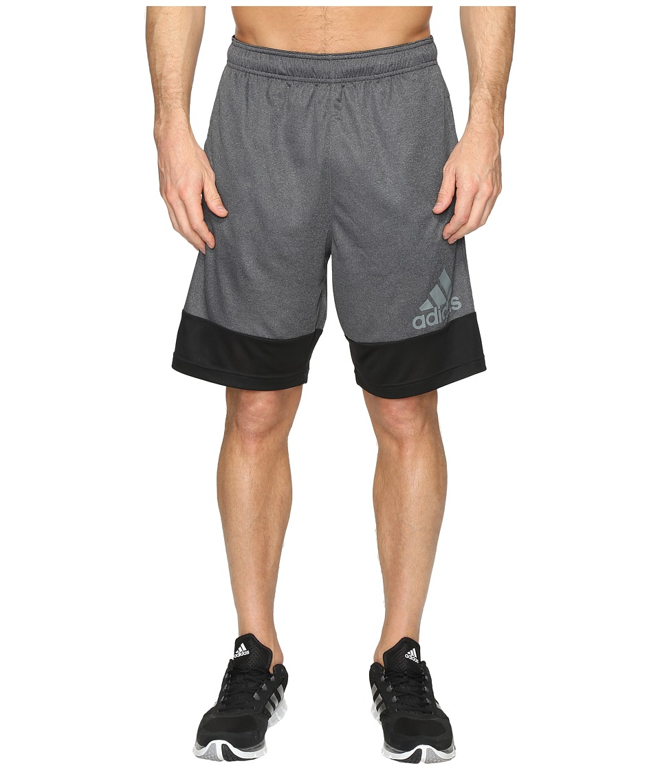 adidas - Prime Shorts (Black/Grey) Men's Shorts