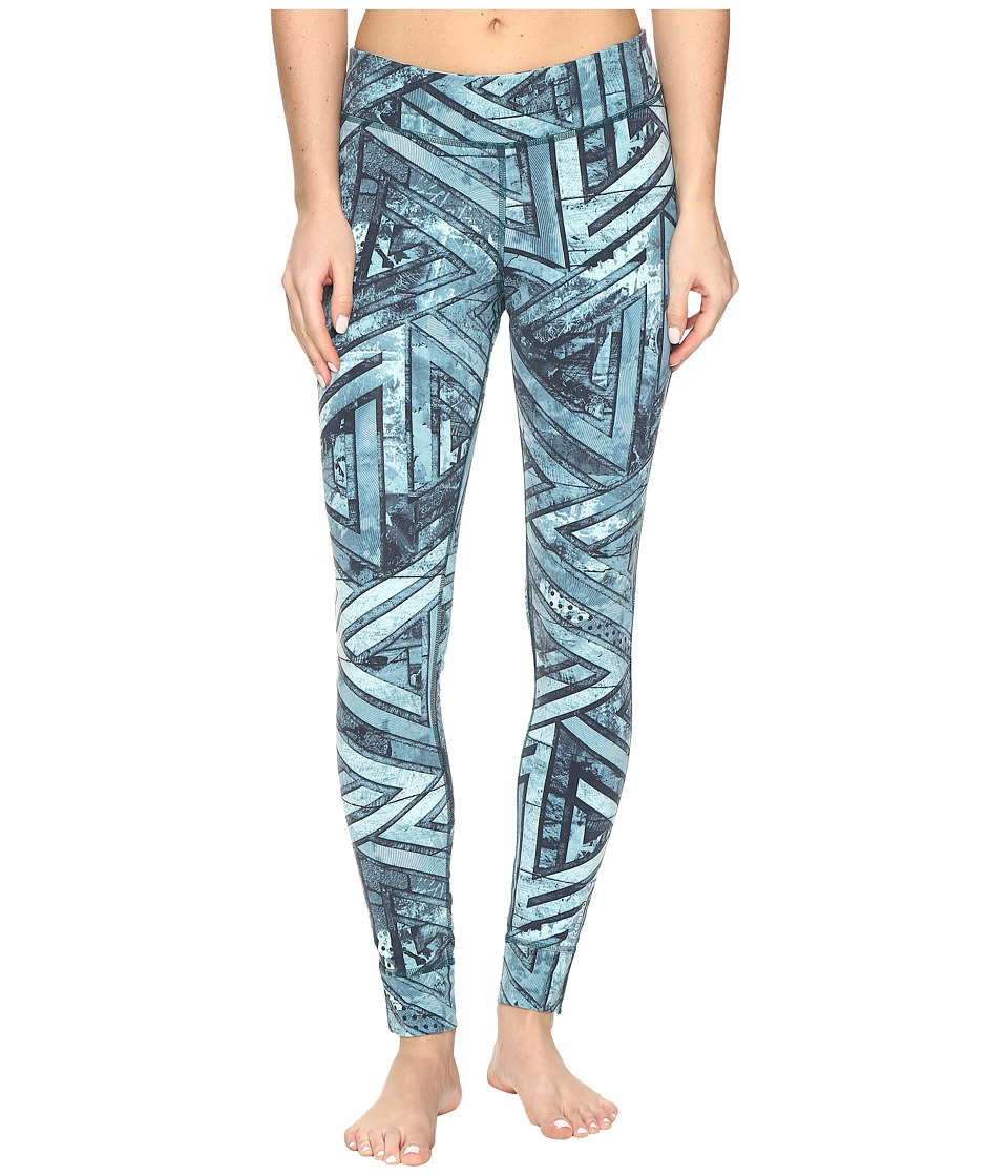 Reebok - One Series Nylux Tights G (Teal) Women's Casual Pants