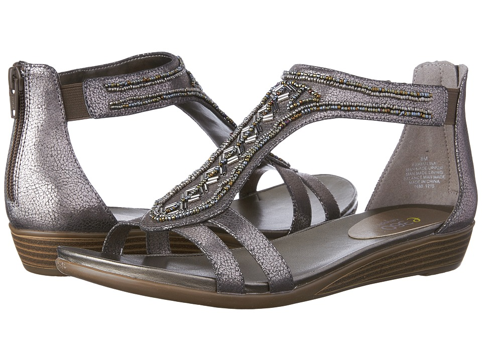 Easy Spirit Amalina 3 (Pewter Synthetic) Women