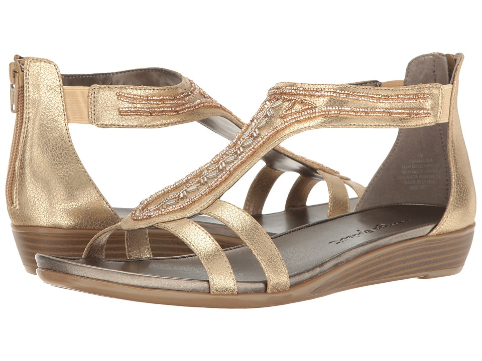 Easy Spirit - Amalina 3 (Gold Synthetic) Women's Shoes