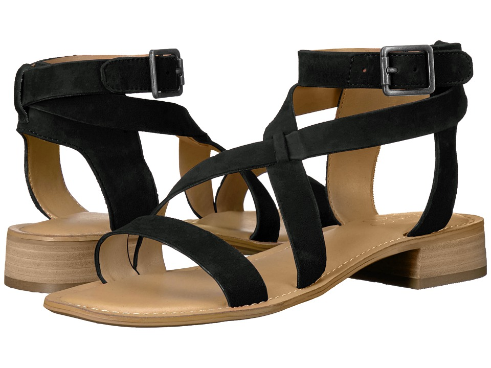 Franco Sarto - Alora (Black Diva Suede) Women's Sandals