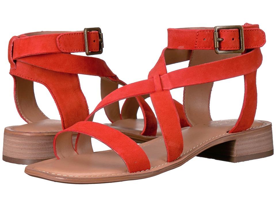 Franco Sarto - Alora (Orange Diva Suede) Women's Sandals