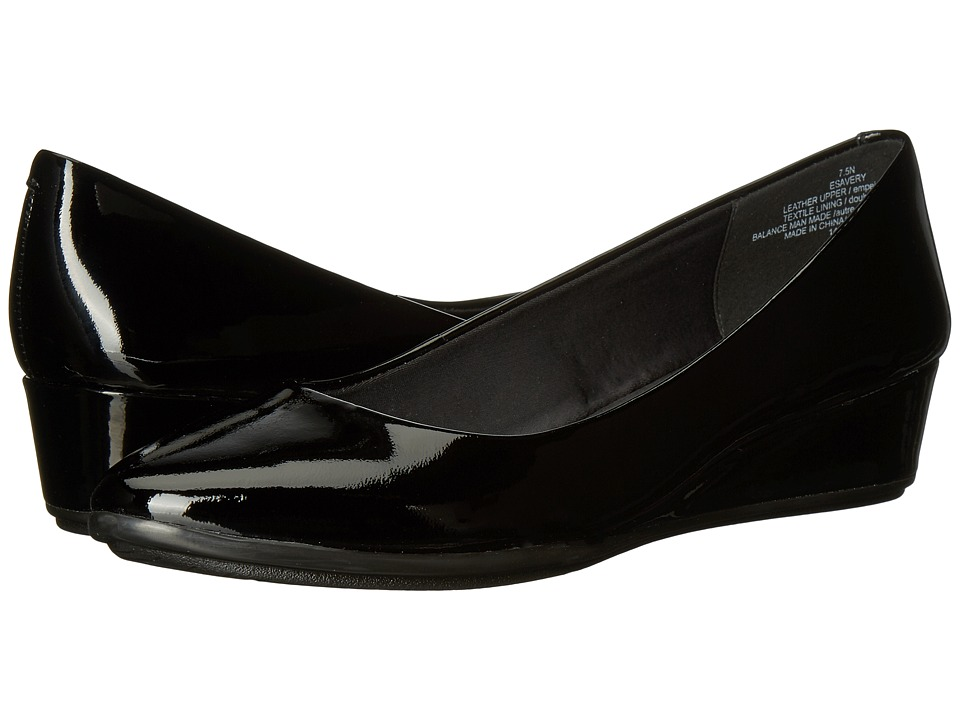 Easy Spirit Avery (Black Patent) Women