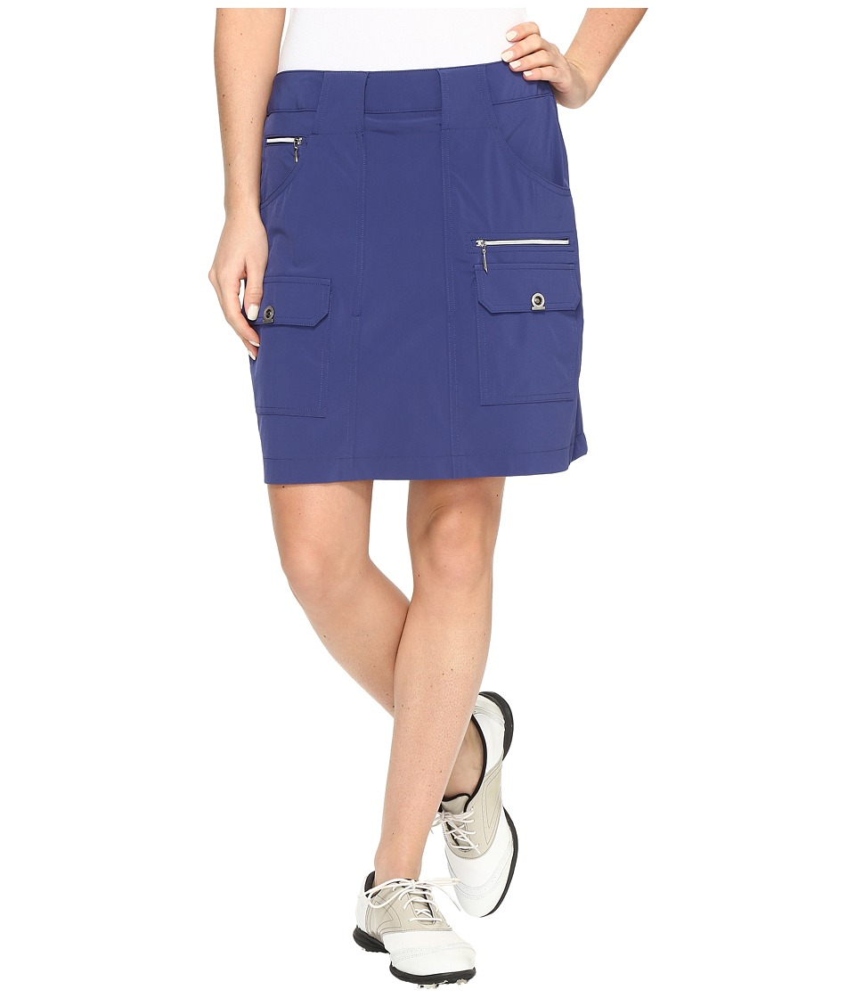 Jamie Sadock Airwear Light Weight 18 in. Skort (Terra Blue) Women