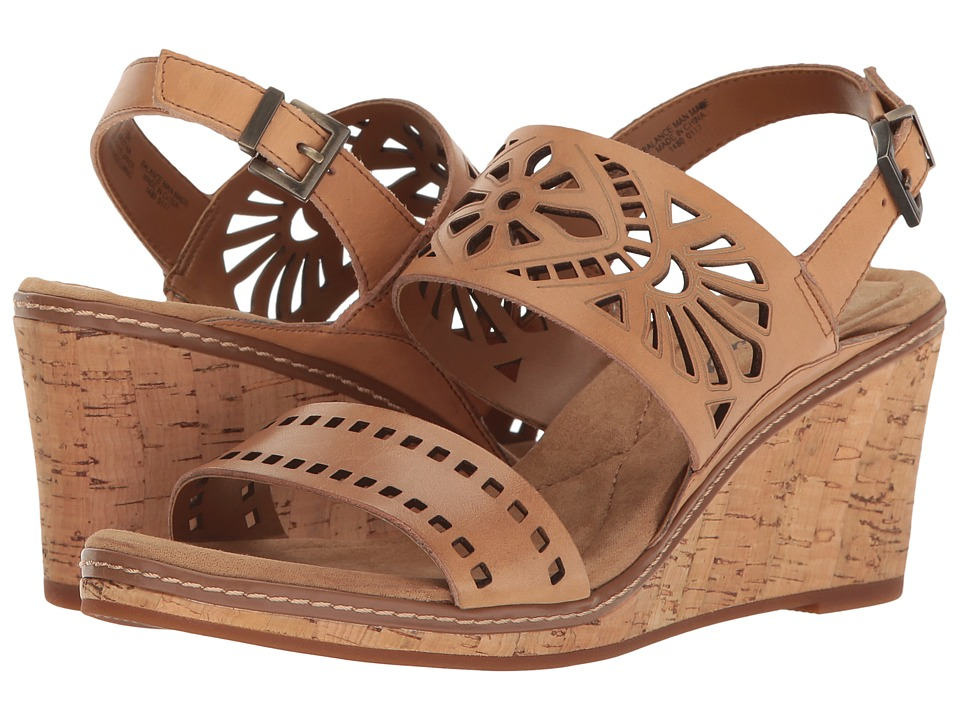 Easy Spirit - Kristina (Natural Leather) Women's Shoes