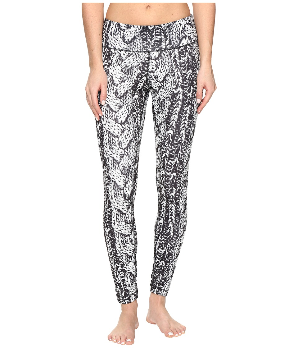 Reebok - Cable Leggings (Chalk) Women's Casual Pants