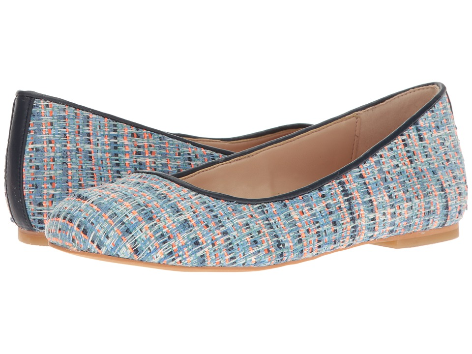 Dr. Scholl's - Vixen - Original Collection (Blue Multi/Navy Tweed) Women's Flat Shoes