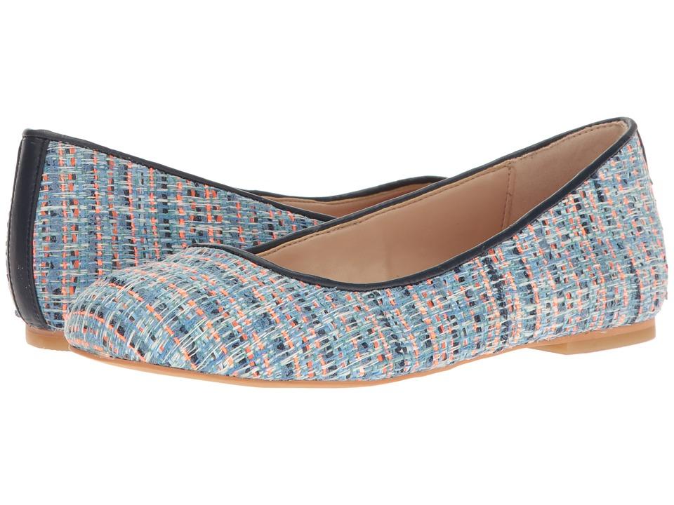 Dr. Scholl's - Vixen - Original Collection (Blue Multi/Navy Tweed) Women's Flat Shoes