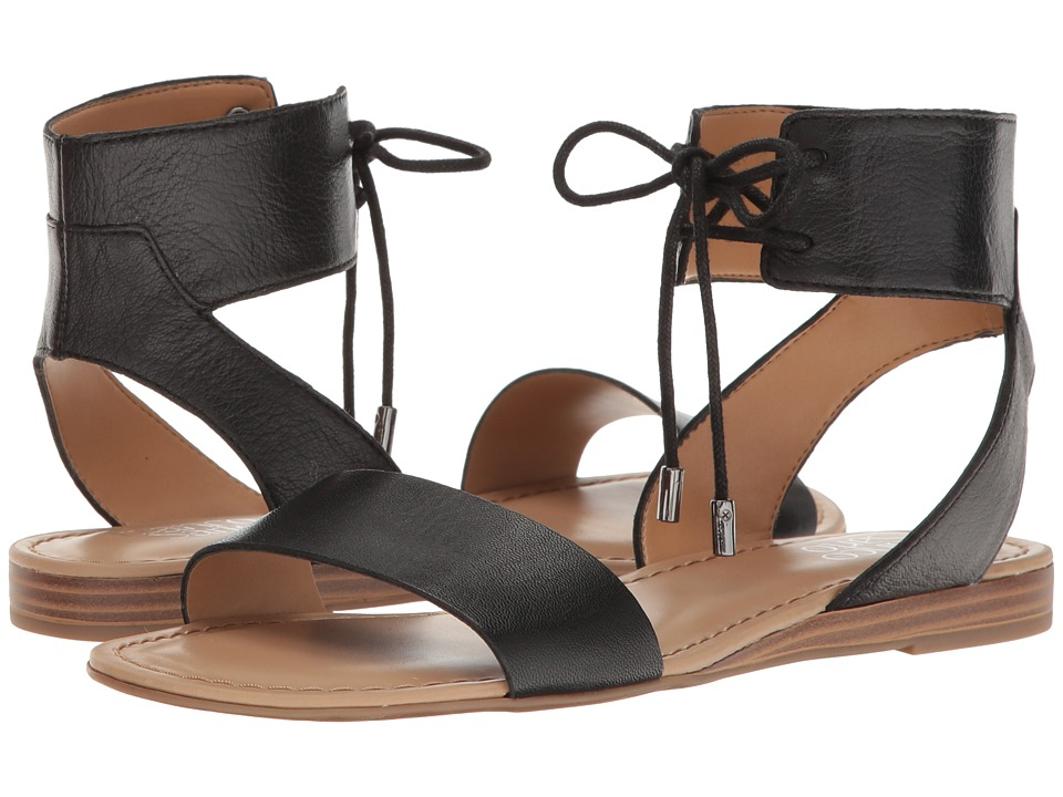 Franco Sarto - Glenys (Black Polly Lux Leather) Women's Sandals