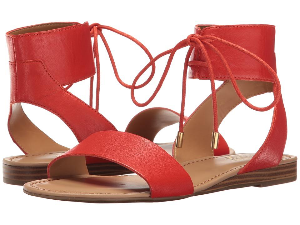 Franco Sarto - Glenys (Orange Polly Lux Leather) Women's Sandals