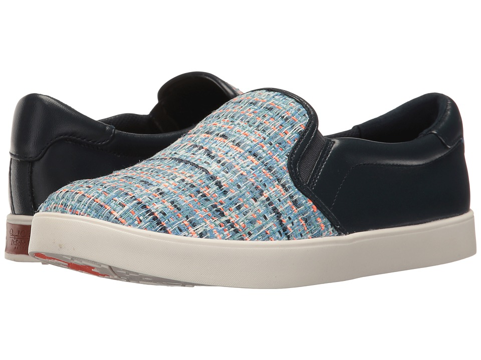 Dr. Scholl's - Scout - Original Collection (Blue Multi/Navy Tweed) Women's Slip on Shoes