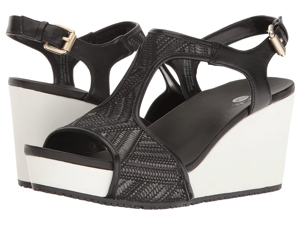 Dr. Scholl's - Wiley - Original Collection (Black Raffia) Women's Shoes