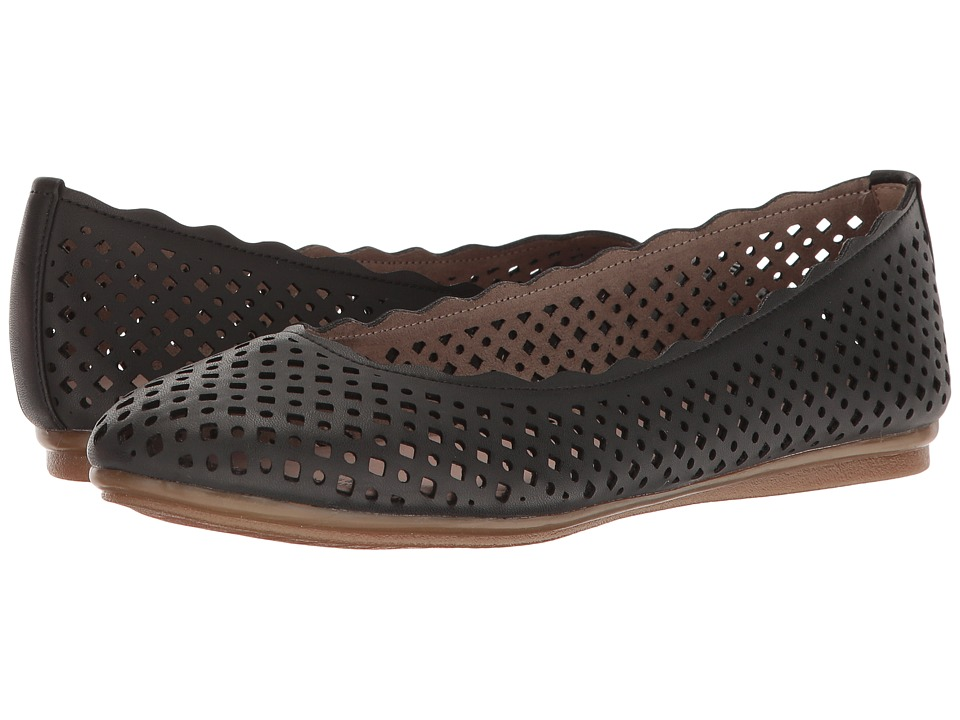 Easy Spirit - Gelica (Black Synthetic) Women's Shoes