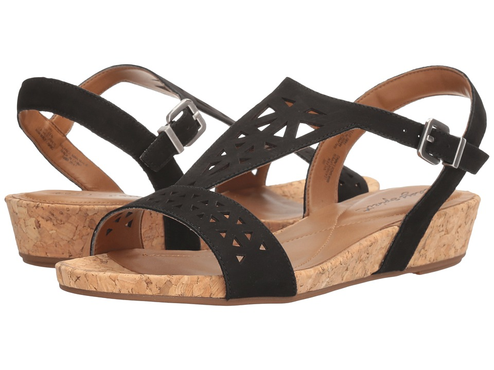 Easy Spirit - Nyleen (Black Nubuck) Women's Shoes