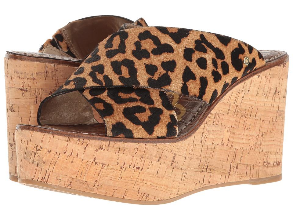 Sam Edelman Darlene (Brown Sahara Leopard Brahma Hair) Women