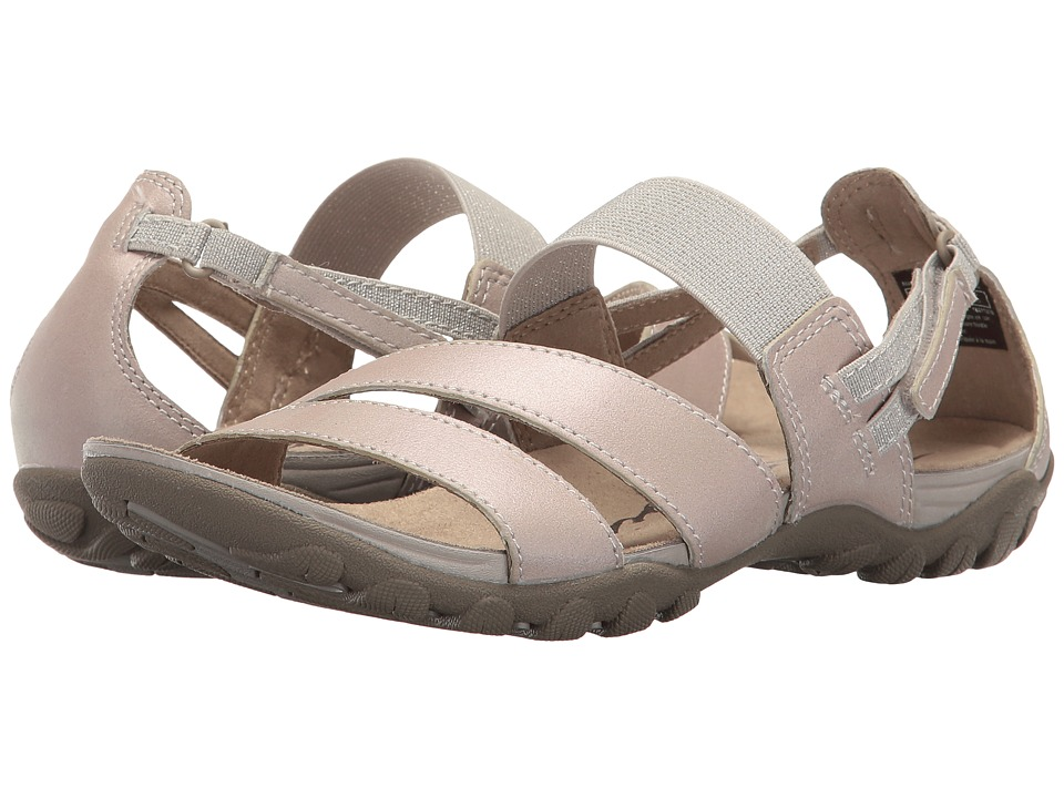 Easy Spirit Mesaa (Light Grey Leather) Women
