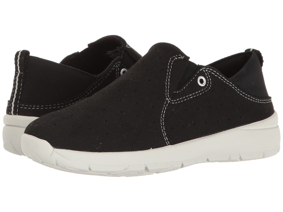 Easy Spirit - Getflex (Black/Black Fabric) Women's Shoes