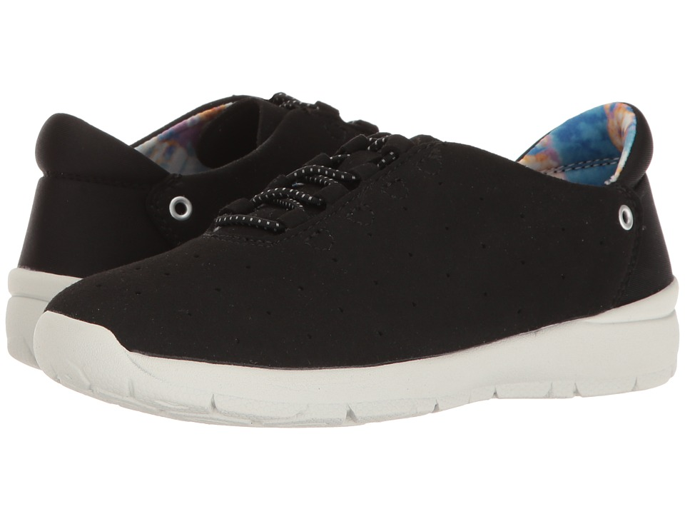 Easy Spirit - Gosport (Black/Black Fabric) Women's Shoes