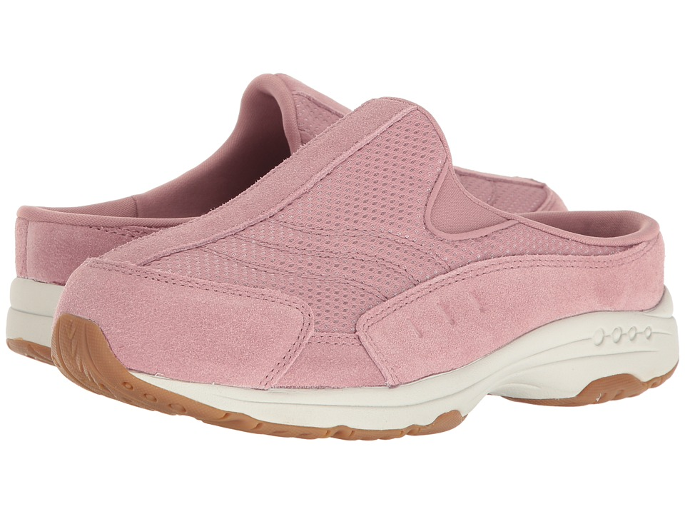 Easy Spirit - Traveltime 258 (Pink/Pink Suede) Women's Shoes
