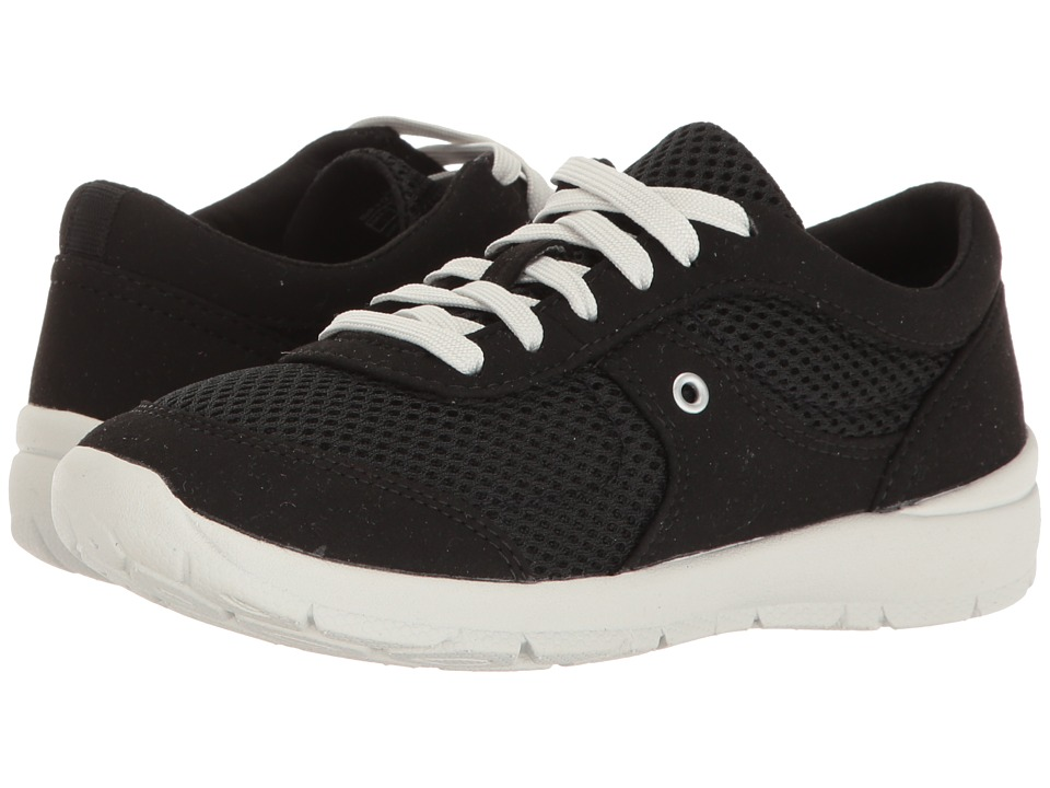 Easy Spirit - Gogo (Black/Black Fabric) Women's Shoes