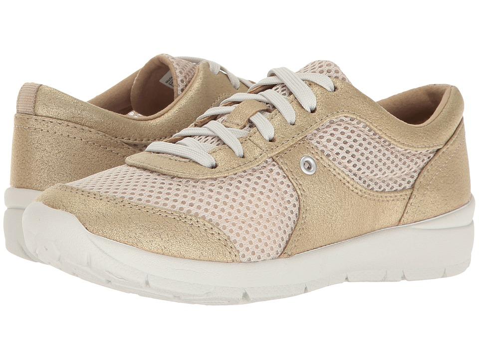 Easy Spirit - Gogo (Light Gold/Light Natural Synthetic) Women's Shoes