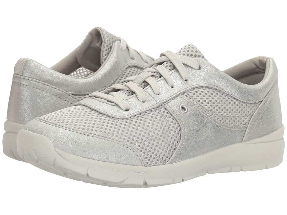 Easy Spirit - Gogo (Silver/Silver Synthetic) Women's Shoes