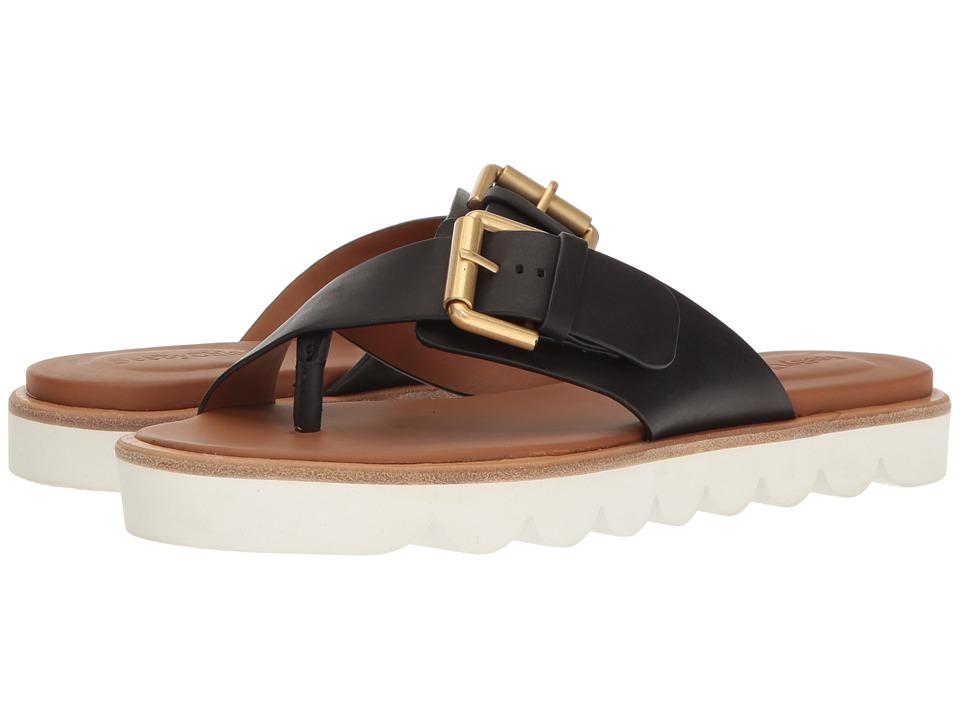 See by Chloe - SB26070 (Nero Vegetal Calf) Women's Sandals