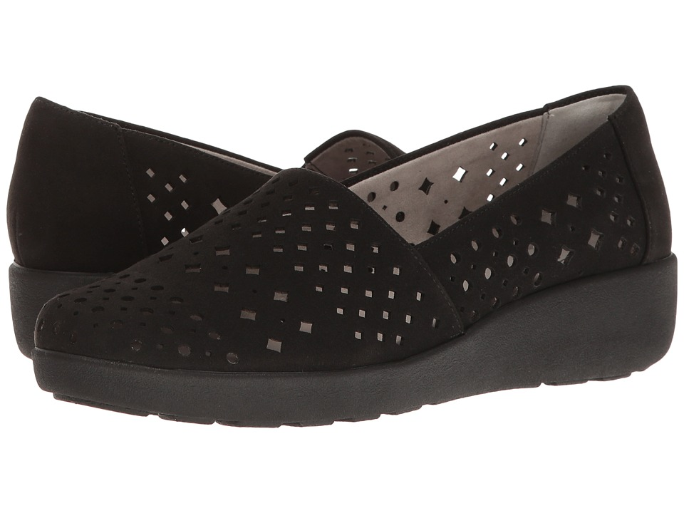Easy Spirit - Kimmie (Black Fabric) Women's Shoes