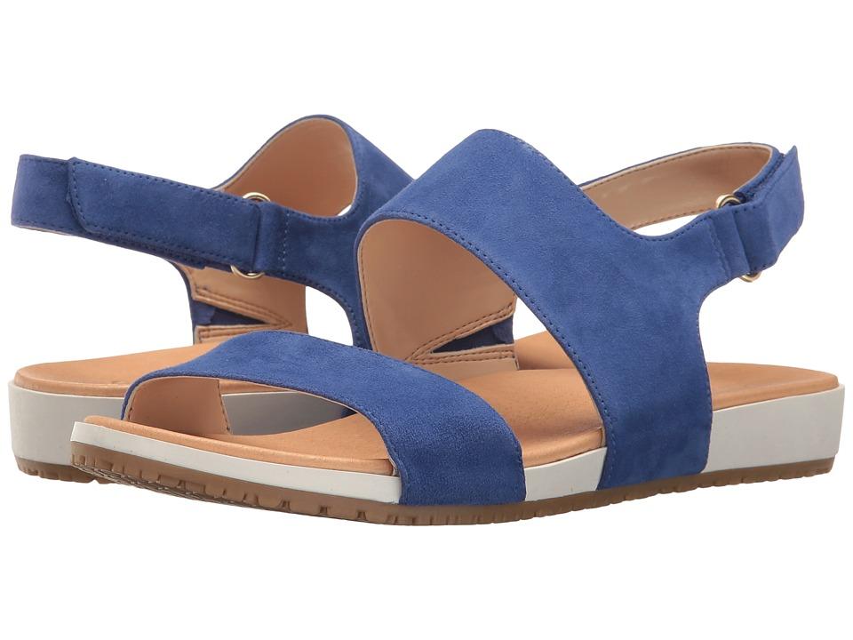 Dr. Scholl's - Port - Original Collection (Sailor Blue Suede) Women's Shoes