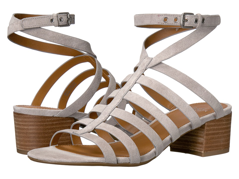 Franco Sarto - Finesse (Vapor Grey Lux Brushed Suede) Women's Sandals