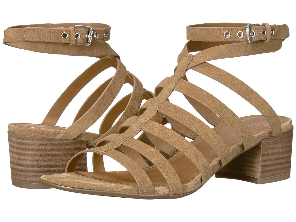 Franco Sarto - Finesse (Toasted Barley Lux Brushed Suede) Women's Sandals