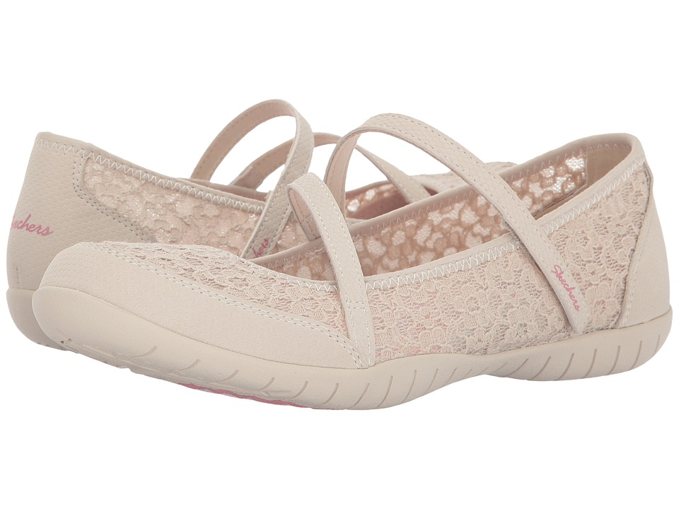 SKECHERS - Atomic - Dainty Lady (Natural) Women's Shoes