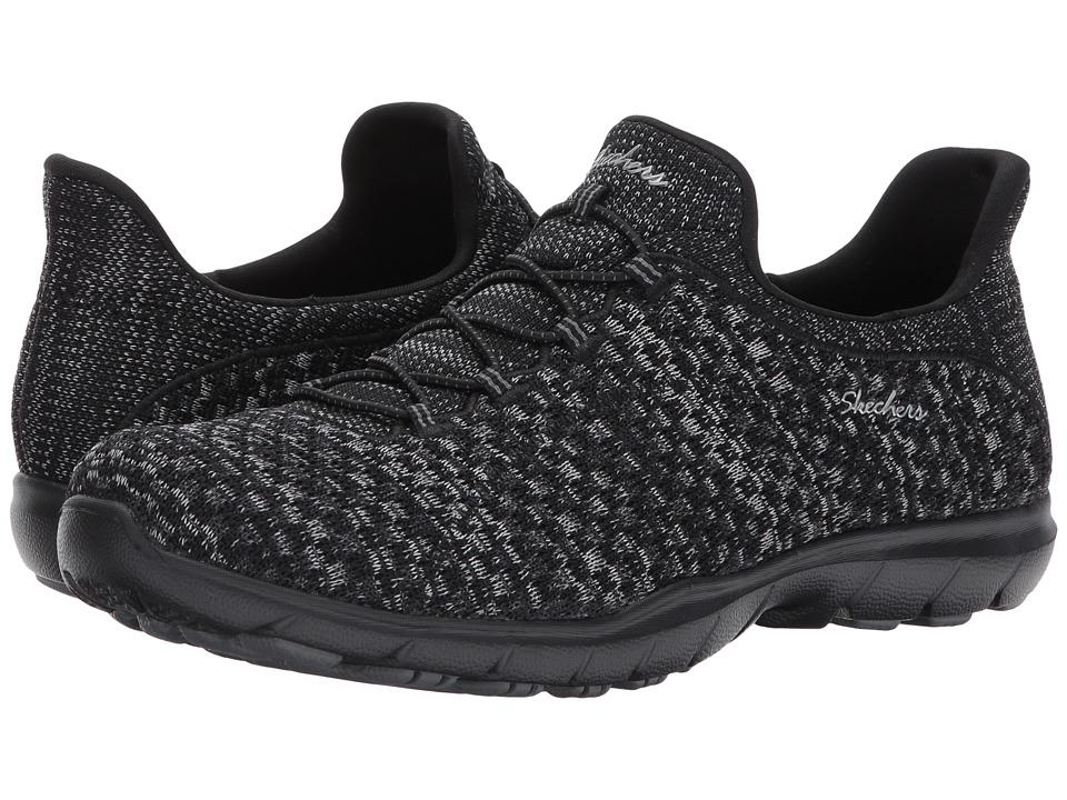 SKECHERS - Dreamstep - Enliven (Black) Women's Lace up casual Shoes