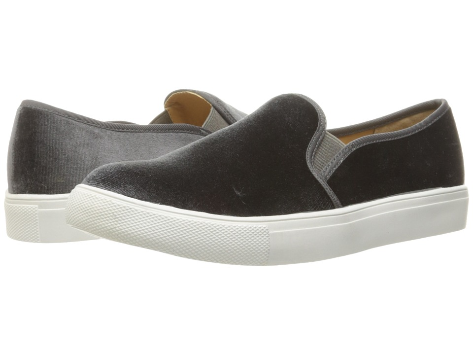 Dirty Laundry Franklin Velvet Sneaker (Smoke Rich Velvet) Women