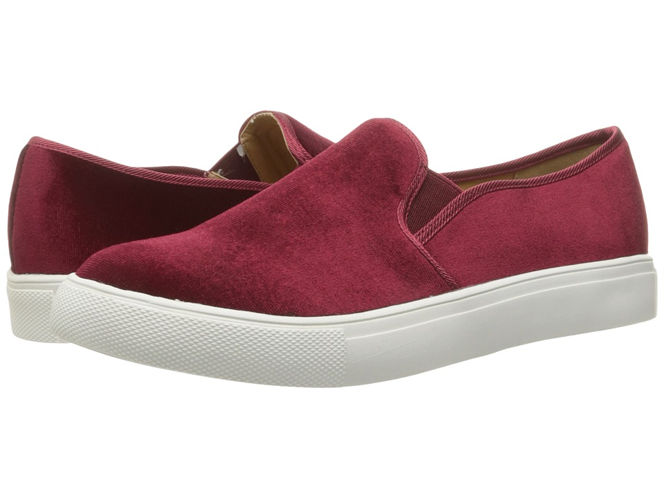 Dirty Laundry Franklin Velvet Sneaker (Merlot Rich Velvet) Women