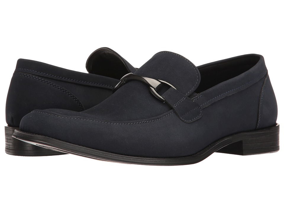 Kenneth Cole Unlisted - Entertain 2 Nite (Navy) Men's Shoes