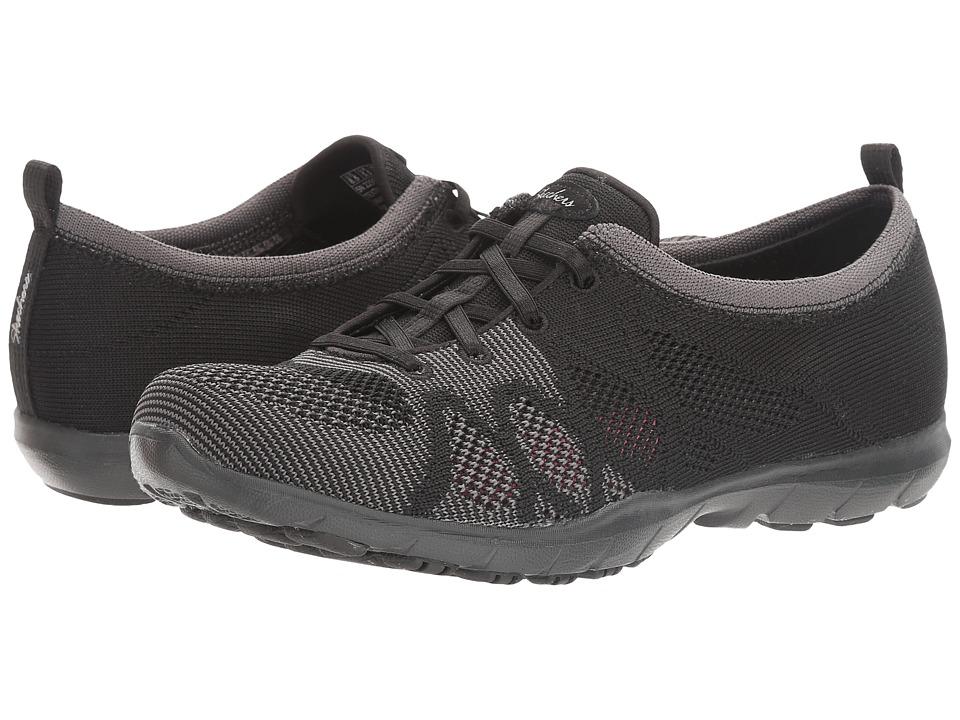 SKECHERS - Dreamstep - Esteem (Black) Women's Lace up casual Shoes