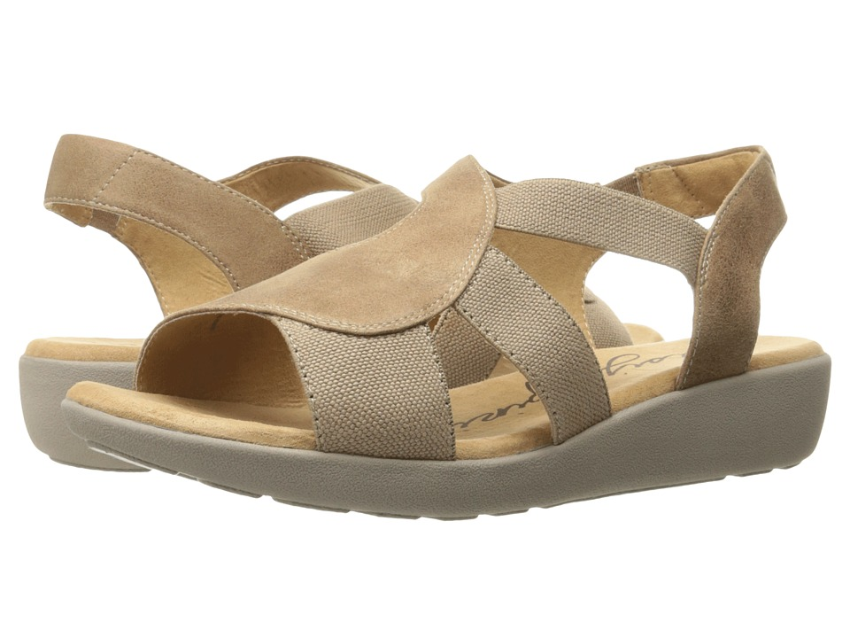 Easy Spirit Kalayla (Taupe/Taupe Fabric) Women