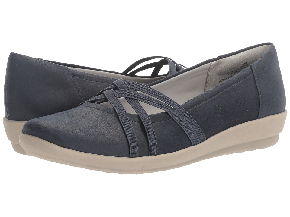 Easy Spirit Aubree (Navy Fabric) Women
