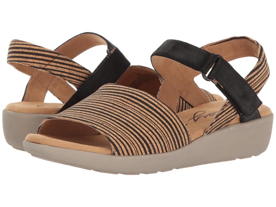 Easy Spirit - Kala (Black Multi/Black Combo Nubuck) Women's Shoes