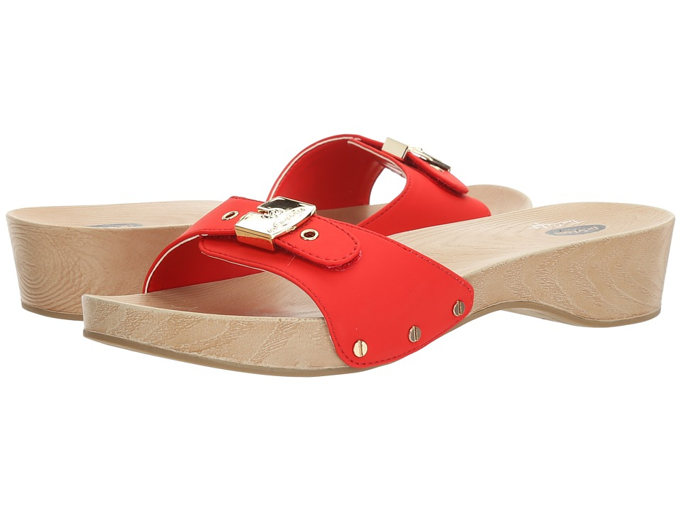 Dr. Scholl's - Classic (Red) Women's Slide Shoes