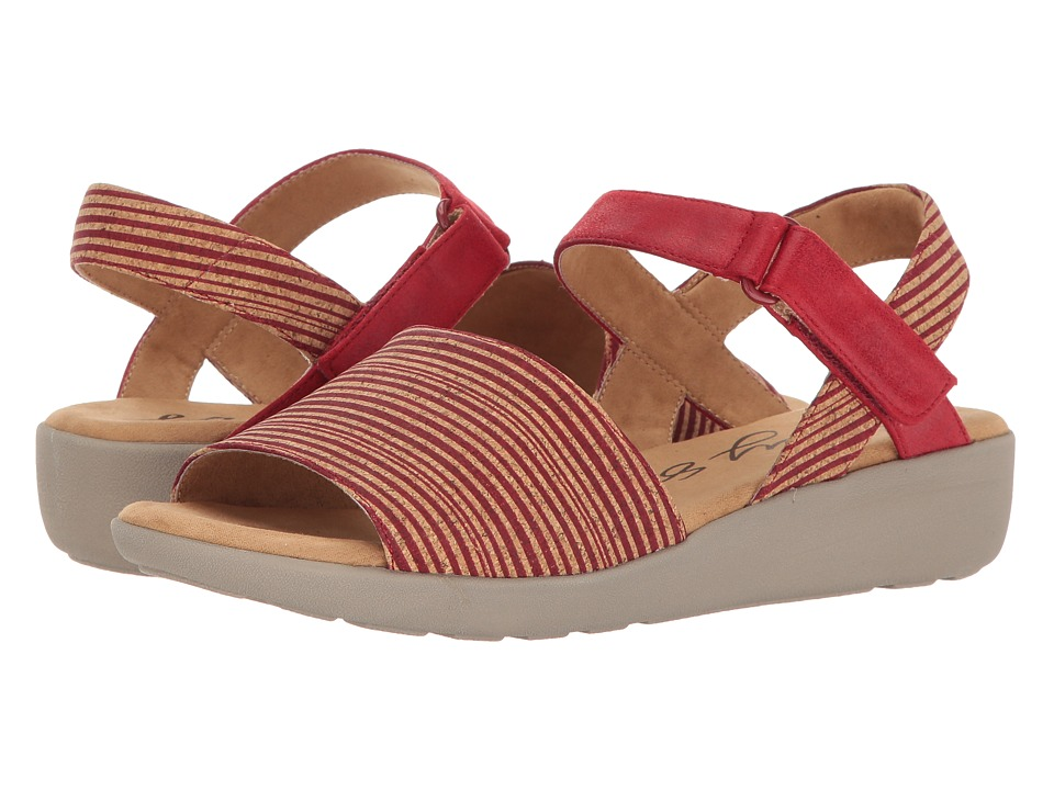 Easy Spirit - Kala (Red Multi/Red Combo Nubuck) Women's Shoes