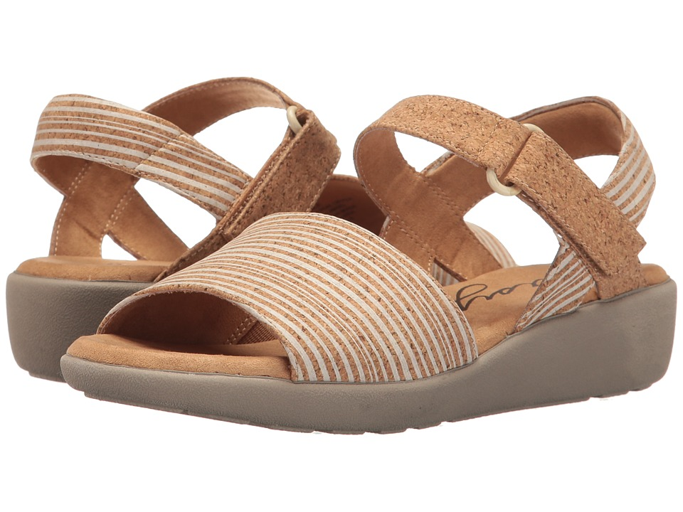 Easy Spirit - Kala (White Multi/Natural Combo Nubuck) Women's Shoes