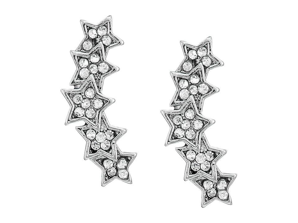 Rebecca Minkoff - Starry Night Climber Stud Earrings (Silver) Earring