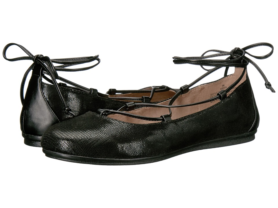 Easy Spirit - Ginada (Black/Black Fabric) Women's Shoes