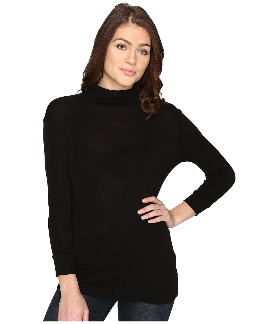AG Adriano Goldschmied - Noah Turtleneck (Ture Black) Women's Clothing