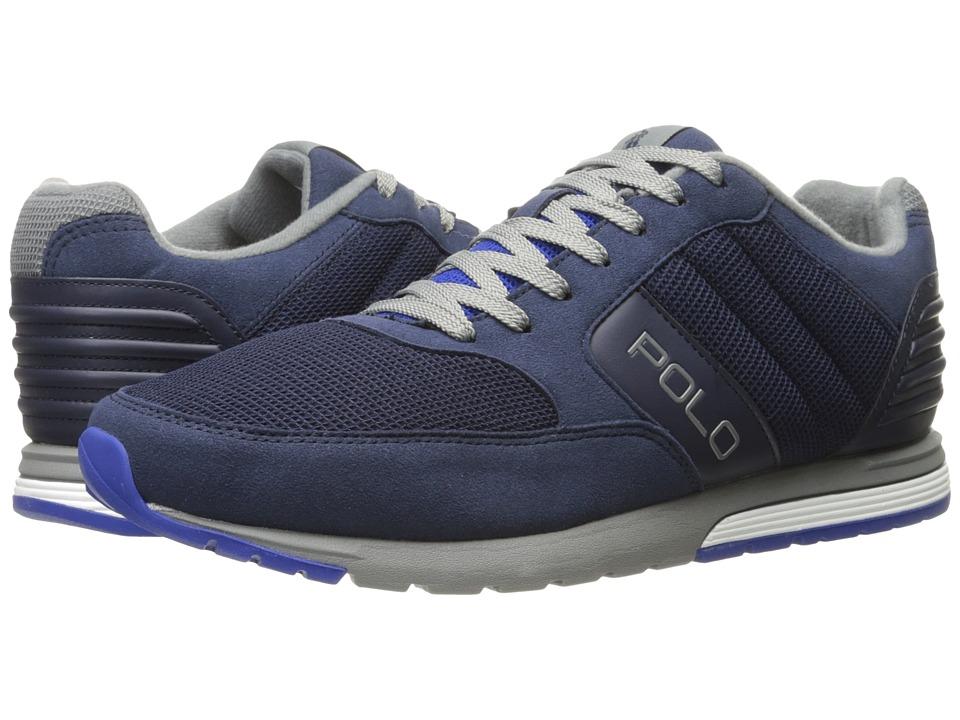 Polo Ralph Lauren - Laxman-SK (Newport Navy Tech Suede/Waffle Mesh) Men's Shoes
