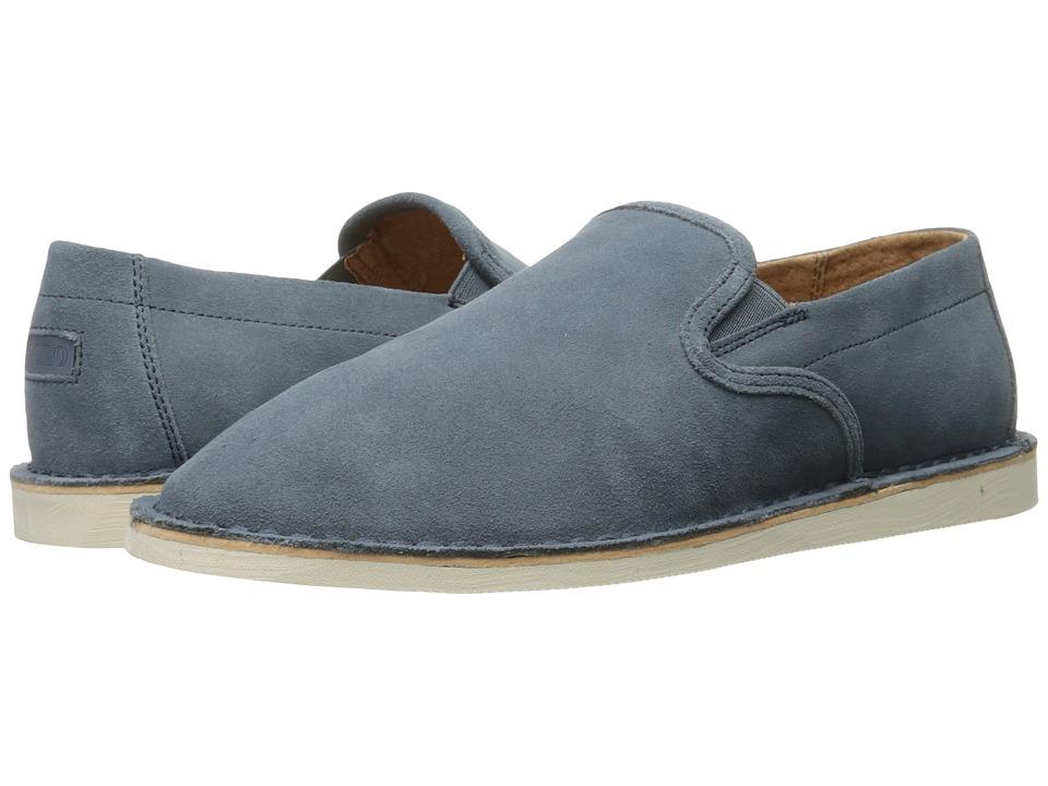 Polo Ralph Lauren - Bardene-SH (Light Denim Resin Back Sport Suede) Men's Shoes